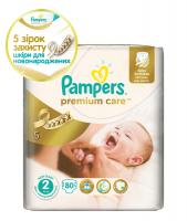 Підгузники Pampers Premium Care 3-6кг 80шт х6