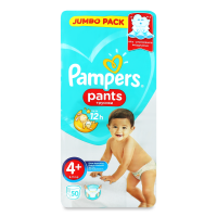 Памперси Pampers Pants трусики 4+ 9-15кг 50шт х6