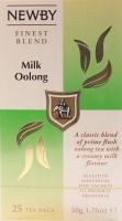 Чай Newby Milk Oolong чорний 25пак.