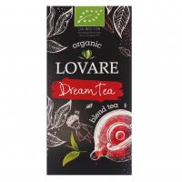 Чай Lovare Organic чорний/зелений 24*1,5г