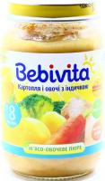 Пюре Bebivita м`ясо-овочеве Картопля з індичкою 190г х6