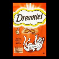 Корм Dreamies подушечки з куркою 60г