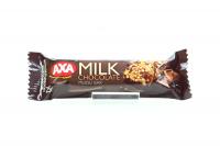 Батончик Axa зерновий з молочним шоколадом 25г х24