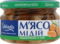 Мідії Veladis в олії підкопчені с/б 200г х12