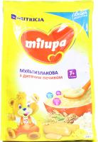 Каша Milupa Nutricia молочна мультизлакова з печивом 210г х9
