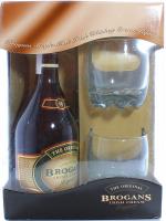 Лікер Brogans Irish Cream 0.7л+2склянки (набір) х3