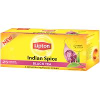 Чай Lipton Indian Spice чорний 25*2г