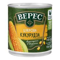 Кукурудза Верес Цукрова ж/б 170г х12