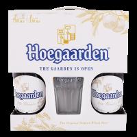 Пиво Hoegaarden 2*0,75л + келих 0,33л (набір) х2