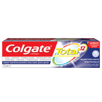 Зубна паста Colgate Total 12 Професійне Відбілювання, 75 мл