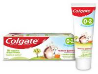 Зубна паста Colgate 0-2 без фторида ніжні фрукти 40мл