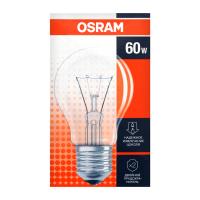 Лампа Osram A 60Вт Е27 прозора звичайна