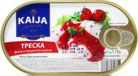 Тріска Kaija філе в томатному соусі 170г