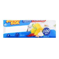 Пакети Фрекен Бок для зберігання з кліпсами 30*40см 100шт.