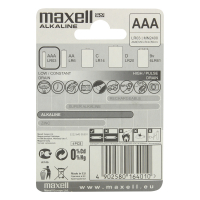 Батарейки Maxell AAA MN2400 LR03 4штх6
