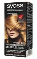 Крем-фарба стійка для волосся Syoss SalonPlex Професійний Догляд №8-7 Карамельний Блонд