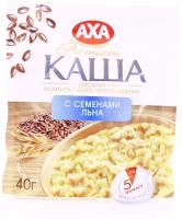 Каша AXA вівсяна з насінням льону 40г