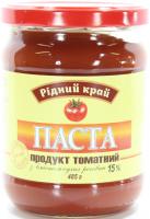 Паста Рідний край продукт томатний 15% 485г