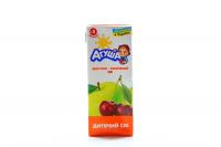 Сік Агуша Яблучно-вишневий освітлений з 5 міс. 200мл х12