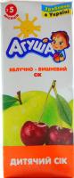 Сік Агуша яблучно-вишневий освітлений тетра/пак 200мл х18