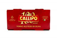 Тунець Callipo у оливковій олії Ієлоуфін 2шт*160г х48