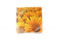 Серветки паперові сервірувальні Luxy 33*33см Соняшники, 20 шт.