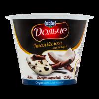 Десерт Дольче 4,5% Страчателла-кокос 200г х8