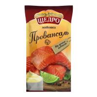 Майонез Щедро Провансаль ф/п 67% 190 г