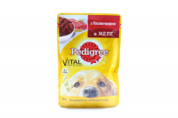 Корм Pedigree Vital protection з яловичиною в желе 100г х24