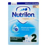 Суміш Nutricia Nutrilon Premium+ 2 6-12м. 1000г
