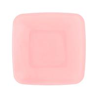 Тарілка квадратна пластикова 19*19см з кришкою