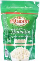 Сир President кисломолочний Творожна Традиція 9% 1000г