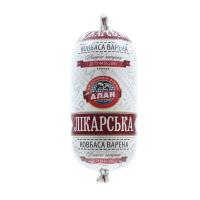 Ковбаса Алан Лікарська в/г 400г х10