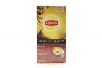 Чай Lipton Black Tea Heart of Ceylon  25пак.50г х12