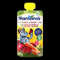 Пюре Hame Hamanek яблуко-морква-буряк 120г х8