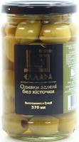 Оливки Еллада зелені б/к, с/б 370мл