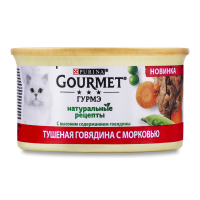Корм Гурме яловичина морква 85г х12