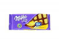 """Шоколад Milka молочний з солоним крекером ТУК"""" 87г х12"""""""