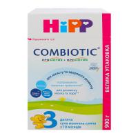 Суміш Hipp Combiotic 3 молочна 900г х6