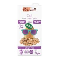 Молоко рослинне EcoMil з вівса без цукру 1л