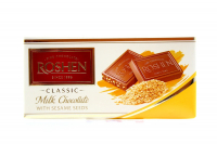 Шоколад Roshen Екстрамолочний з сезамом 90г х40