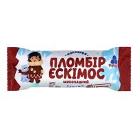 Морозиво Рудь Ескімос шоколадний 80г х30