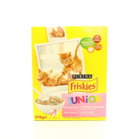Корм Purina Friskies д/котів Junior курка, молоко 270г х10