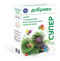 Добриво Сімейний Сад хвойні/декоративні рослини 1кг