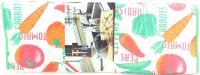 Рушник Zastelli махровий Мозаїка 50*90см біл. х6