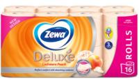 Туалетний папір Zewa Deluxe Cashmere Peach, 16 шт.