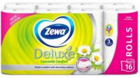 Туалетний папір Zewa Deluxe Camomile Comfort Білий, 16 шт.