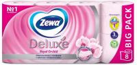 Туалетний папір Zewa Deluxe Royal Orchid Рожевий, 8 шт.