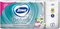 Папір туалетний Zewa Deluxe 3шар. 8шт. жасмин
