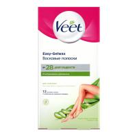 Віск для депіляції Veet для сухої шкіри 12смужок+2серветки
